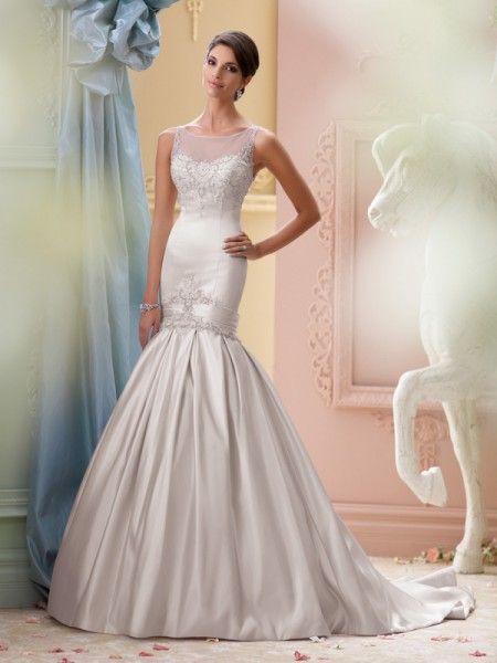 115231 - India Wedding Dress - David Tutera for Mon Cheri Spring 2015 Bridal Collection