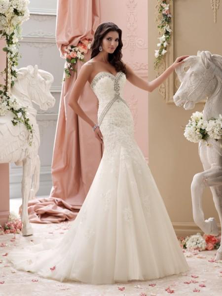 115235 - Aviana Wedding Dress - David Tutera for Mon Cheri Spring 2015 Bridal Collection