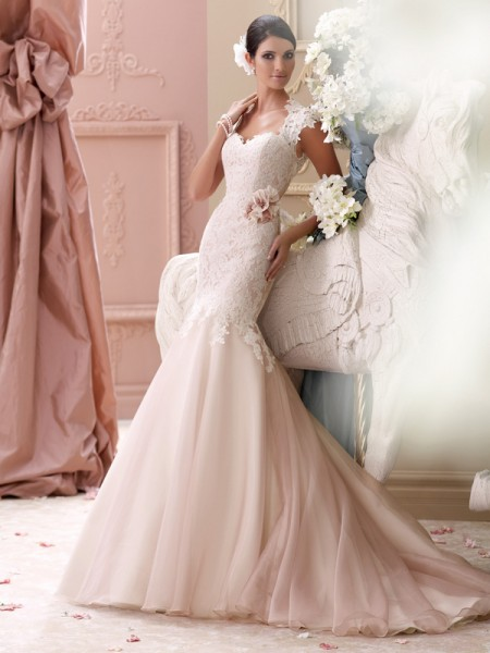 115236 - Meadow Wedding Dress - David Tutera for Mon Cheri Spring 2015 Bridal Collection