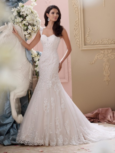 115239 - Emerson Wedding Dress - David Tutera for Mon Cheri Spring 2015 Bridal Collection