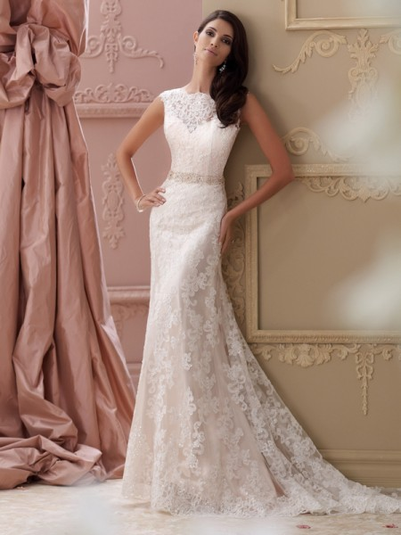 115242 - Rumer Wedding Dress - David Tutera for Mon Cheri Spring 2015 Bridal Collection