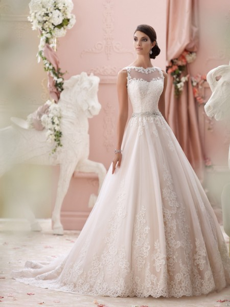 115244 - Seraphina Wedding Dress - David Tutera for Mon Cheri Spring 2015 Bridal Collection