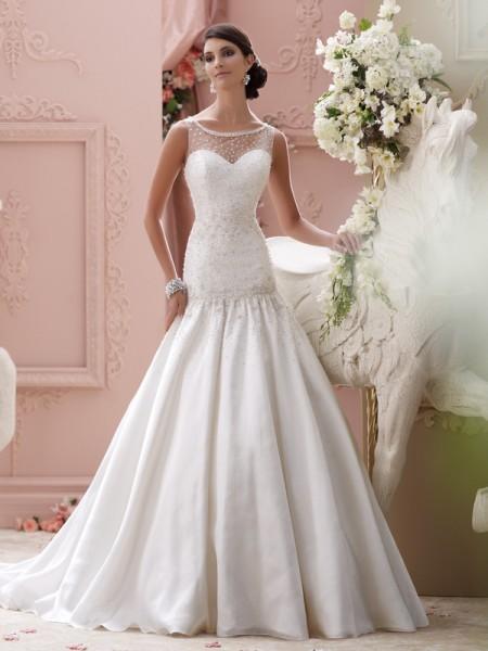 115246 - Sosie Wedding Dress - David Tutera for Mon Cheri Spring 2015 Bridal Collection