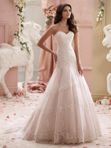 115249 - Adalynn Wedding Dress - David Tutera for Mon Cheri Spring 2015 Bridal Collection