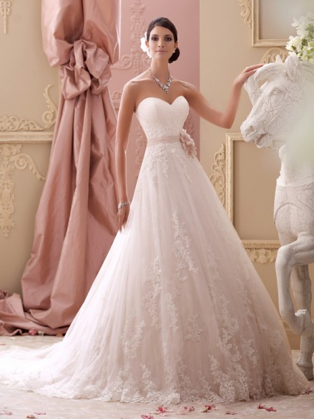 115251 - Blakesley Wedding Dress - David Tutera for Mon Cheri Spring 2015 Bridal Collection