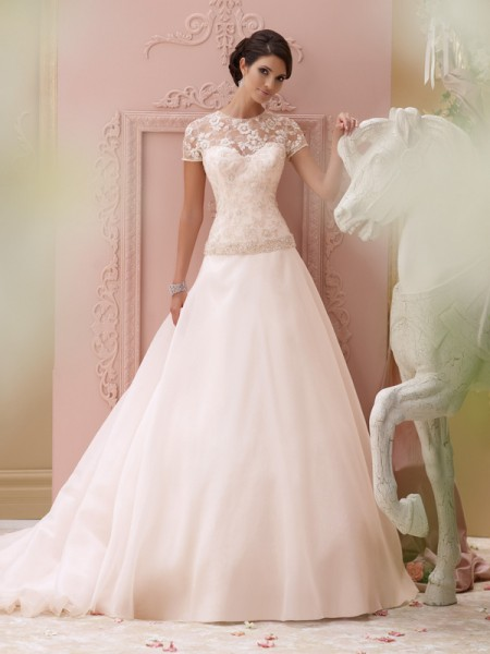 115252 - Arabella Wedding Dress - David Tutera for Mon Cheri Spring 2015 Bridal Collection