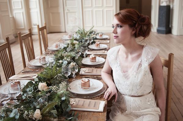 Organic Textures Wedding Styling