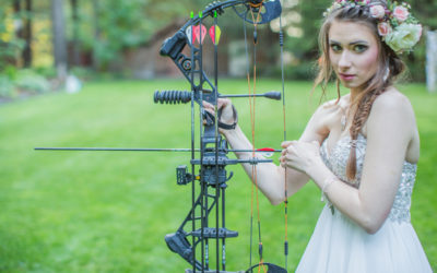 A Rustic Hunger Games Themed Wedding Shoot