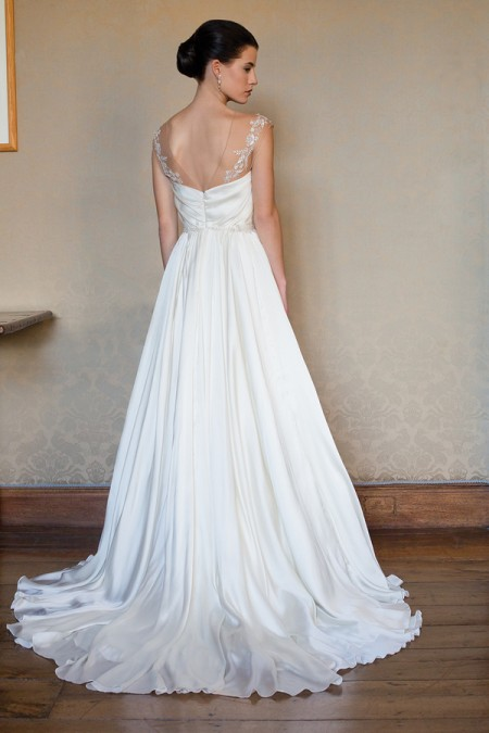 Back of Ava Wedding Dress - Augusta Jones Fall 2015 Bridal Collection