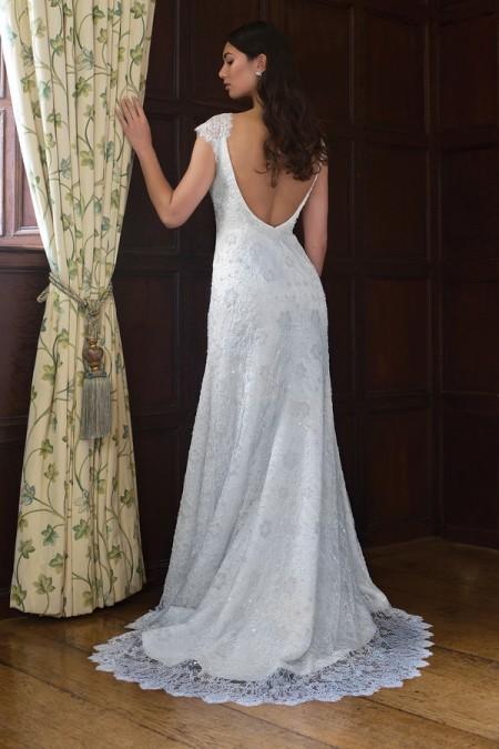 Back of Carol Wedding Dress - Augusta Jones Fall 2015 Bridal Collection