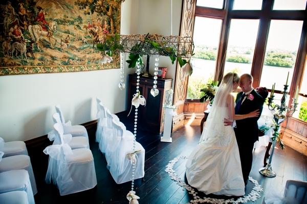 Chateau Rhianfa After Wedding Ceremony