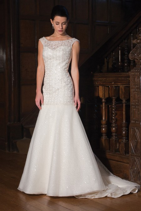 Constellation Wedding Dress - Augusta Jones Fall 2015 Bridal Collection