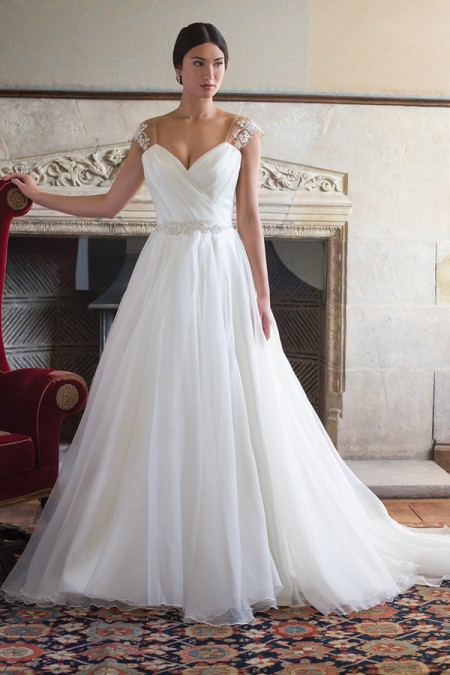 Debra Wedding Dress - Augusta Jones Fall 2015 Bridal Collection