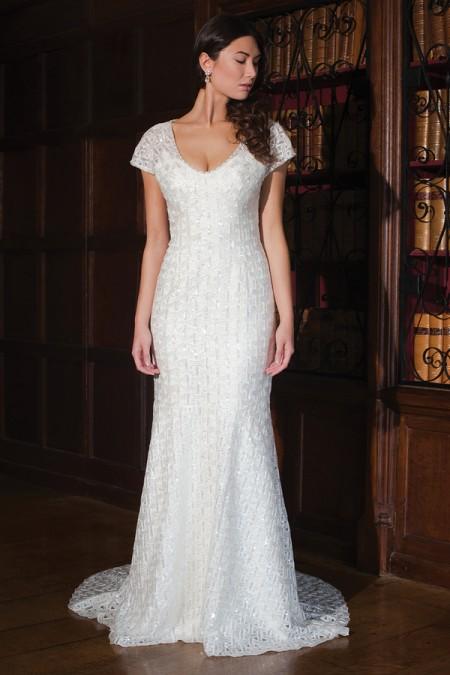 Jan Wedding Dress - Augusta Jones Fall 2015 Bridal Collection