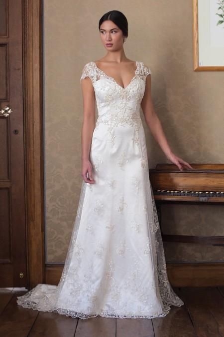 Jill Wedding Dress - Augusta Jones Fall 2015 Bridal Collection