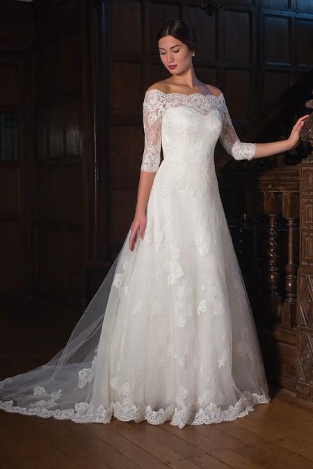 Karen Wedding Dress - Augusta Jones Fall 2015 Bridal Collection