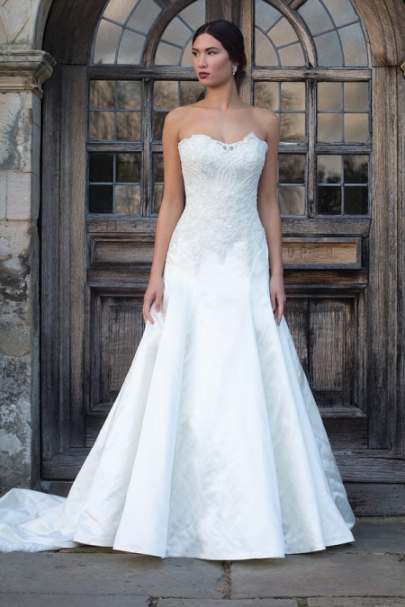 Louise Wedding Dress - Augusta Jones Fall 2015 Bridal Collection