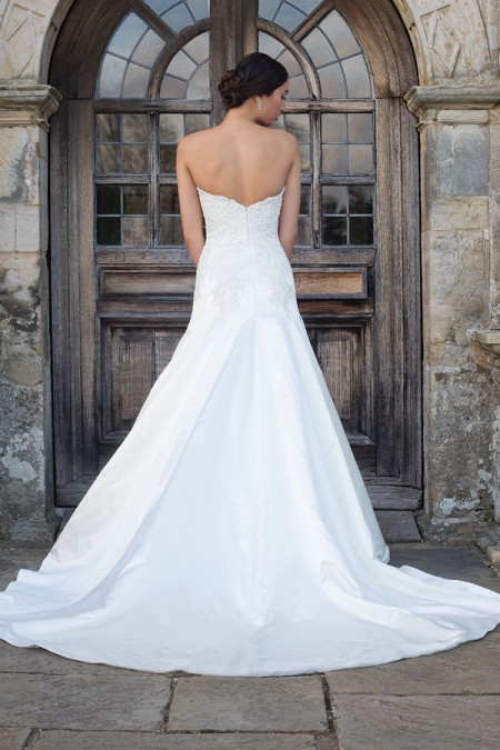 Back of Louise Wedding Dress - Augusta Jones Fall 2015 Bridal Collection