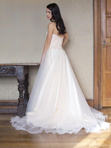 Back of Oliva Wedding Dress - Augusta Jones Fall 2015 Bridal Collection