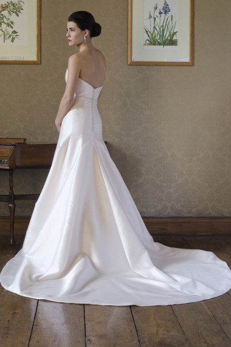 Back of Rebecca Wedding Dress - Augusta Jones Fall 2015 Bridal Collection