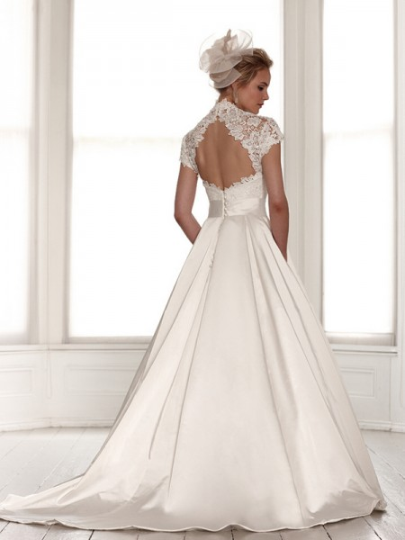 Back of Rhea Wedding Dress - Sassi Holford Signature 2015 Bridal Collection