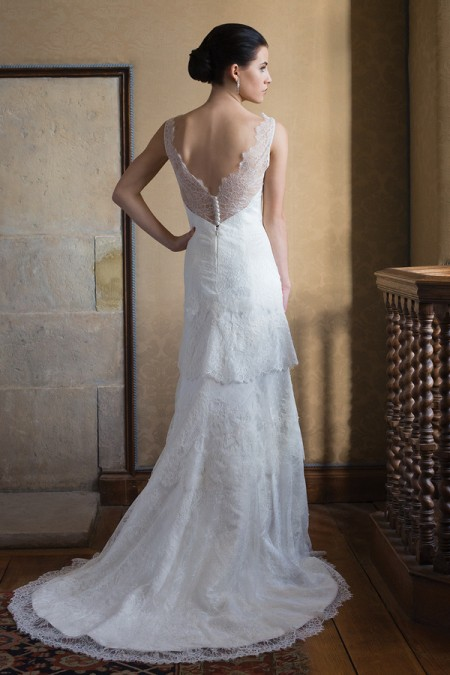 Back of Robin Wedding Dress - Augusta Jones Fall 2015 Bridal Collection