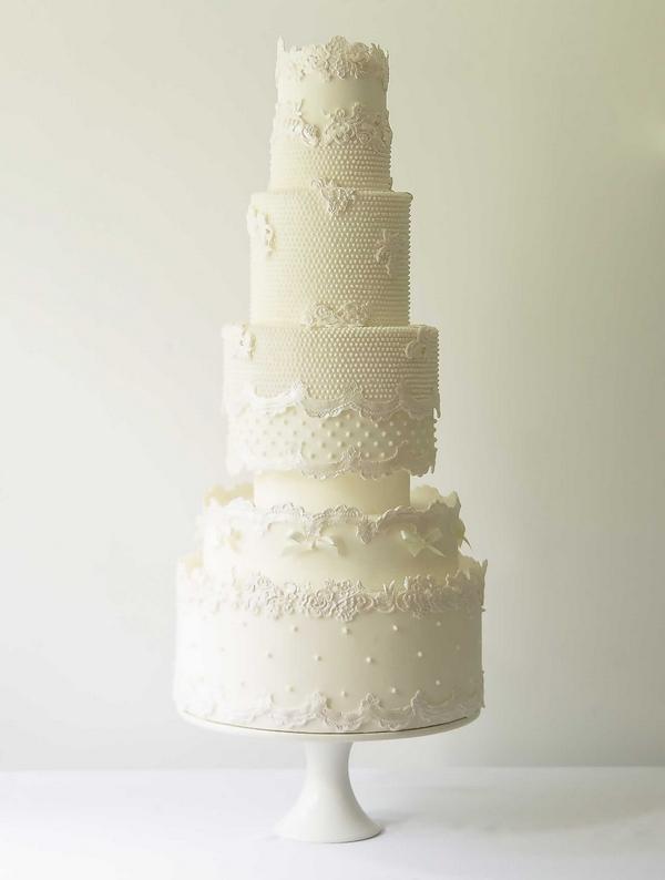 Rosetta - Abigail Bloom 2015 Wedding Cake Collection