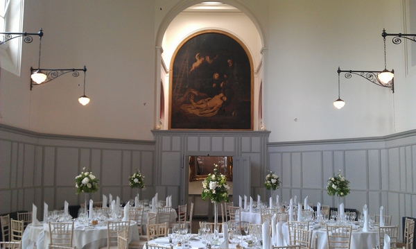 Stanbrook Abbey St Anne's Hall Wedding Breakfast