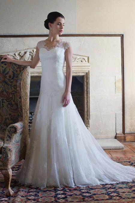 Tara Wedding Dress - Augusta Jones Fall 2015 Bridal Collection