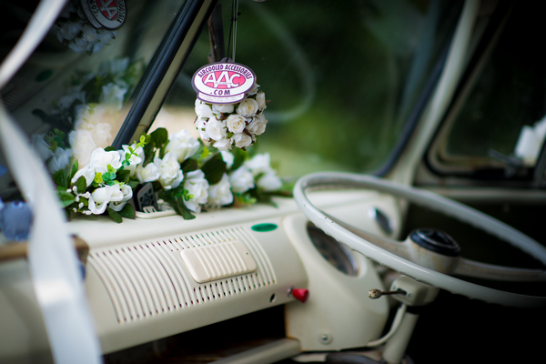 VW camper van interior