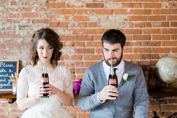 School Sweetheart Styled Wedding Shoot