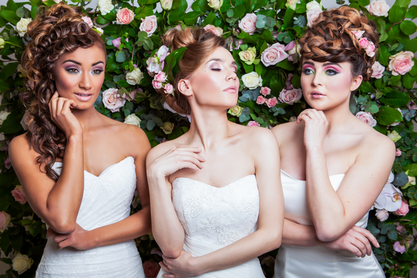 Flower Wall Styled Bridal Shoot