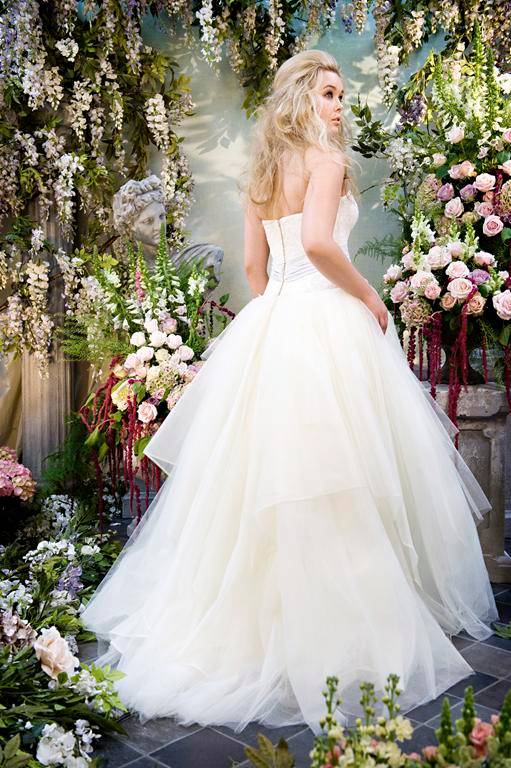 Back of Alice Wedding Dress - Terry Fox Siren Song 2015 Bridal Collection