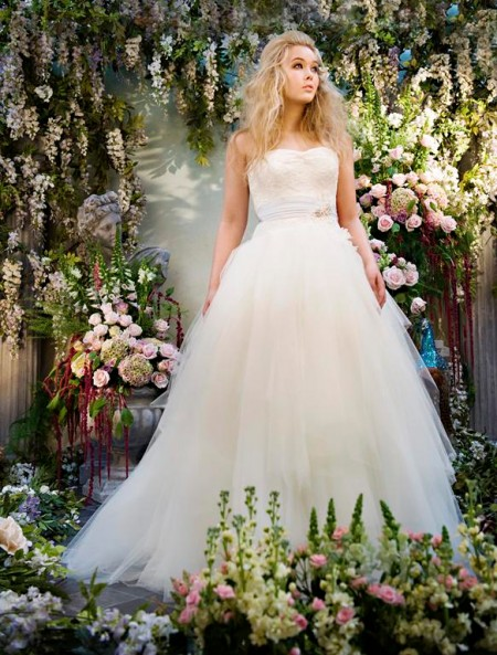 Alice Wedding Dress - Terry Fox Siren Song 2015 Bridal Collection