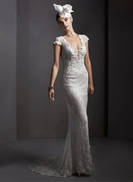 Ambria Wedding Dress - Sottero and Midgley Spring 2015 Bridal Collection