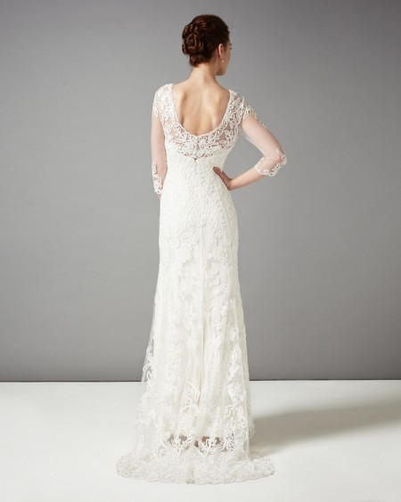 Back of Annabella Wedding Dress - Phase Eight 2015 Bridal Collection