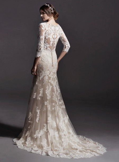 Back of Annora Wedding Dress - Sottero and Midgley Spring 2015 Bridal Collection