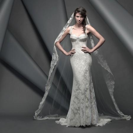 Apollo Wedding Dress - Suzanne Neville Novello 2015 Bridal Collection