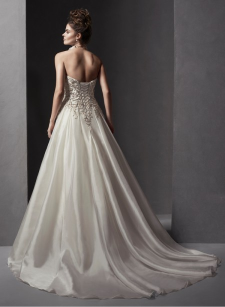 Back of Avani Wedding Dress - Sottero and Midgley Spring 2015 Bridal Collection