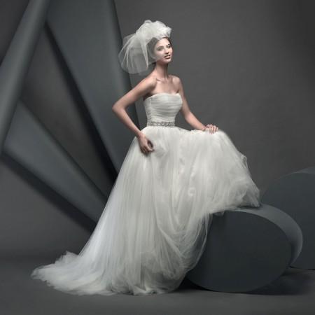 Ballet Wedding Dress - Suzanne Neville Novello 2015 Bridal Collection