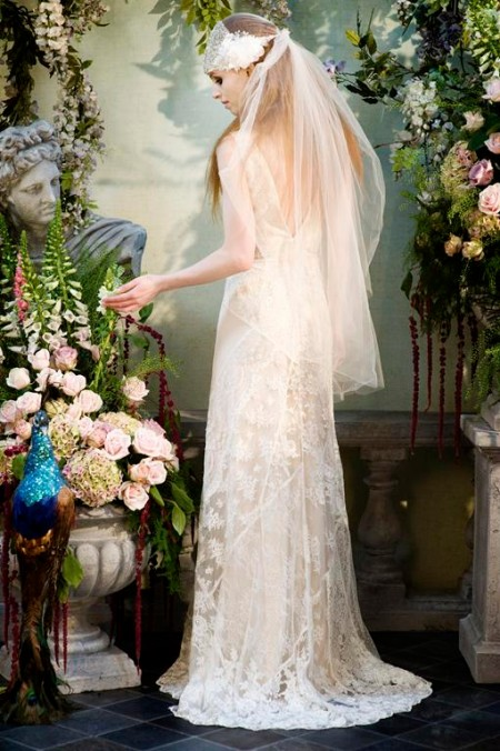 Back of Beguile Wedding Dress - Terry Fox Siren Song 2015 Bridal Collection