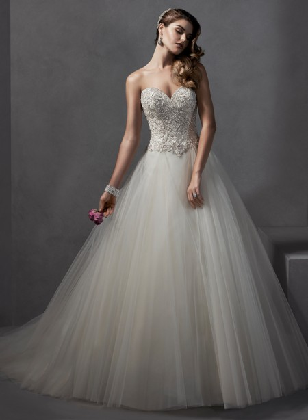 Chandra Wedding Dress - Sottero and Midgley Spring 2015 Bridal Collection