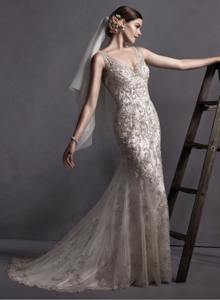Chavelle Wedding Dress - Sottero and Midgley Spring 2015 Bridal Collection