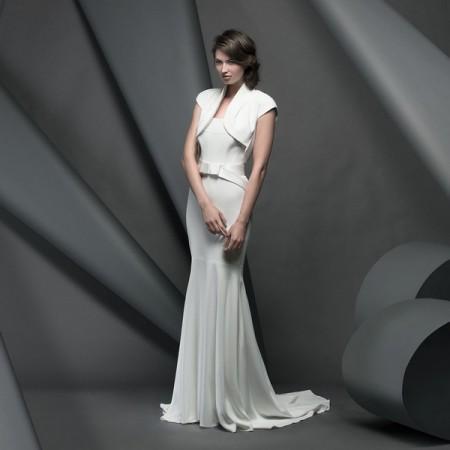 Clarendon Wedding Dress - Suzanne Neville Novello 2015 Bridal Collection