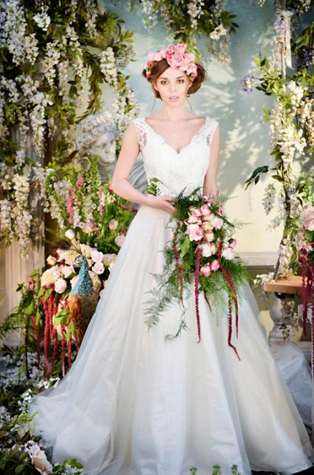 Dance Away Wedding Dress - Terry Fox Siren Song 2015 Bridal Collection