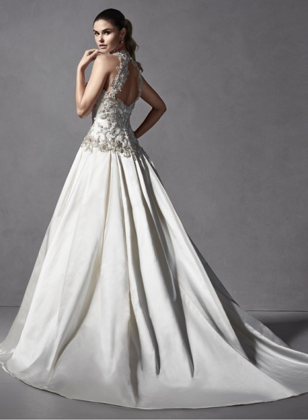 Back of Danica Marie Wedding Dress - Sottero and Midgley Spring 2015 Bridal Collection
