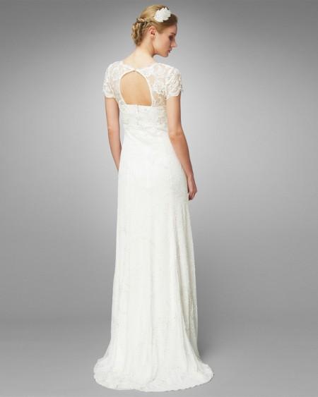 Back of Eliza Wedding Dress - Phase Eight 2015 Bridal Collection