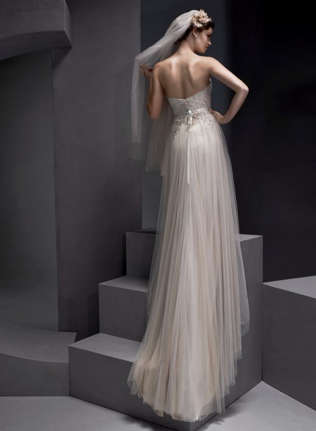 Back of Emsley Wedding Dress - Sottero and Midgley Spring 2015 Bridal Collection