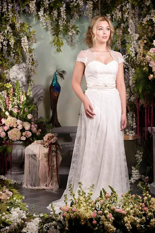 Enigma Wedding Dress - Terry Fox Siren Song 2015 Bridal Collection