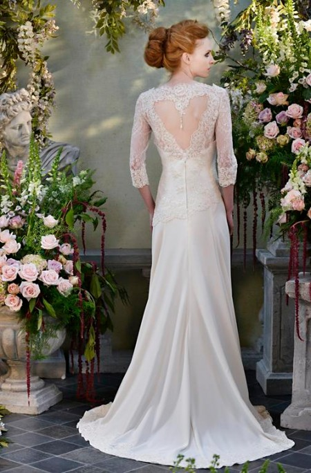 Back of Entice Wedding Dress - Terry Fox Siren Song 2015 Bridal Collection